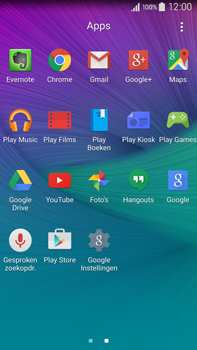 Samsung N910F Galaxy Note 4 - E-mail - handmatig instellen (gmail) - Stap 3