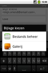 Alcatel OT-991 Smart - e-mail - hoe te versturen - stap 9