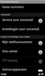 Acer Liquid S100 - Voicemail - handmatig instellen - Stap 5