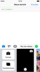 Apple iPhone 6 iOS 10 - MMS - Afbeeldingen verzenden - Stap 10