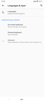 Sony Xperia 5 - Getting started - How to add a keyboard language - Step 6