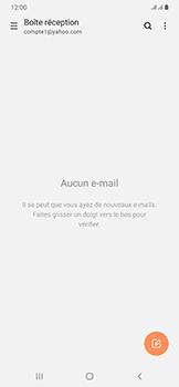 Samsung Galaxy A50 - E-mail - 032b. Email wizard - Yahoo - Étape 5