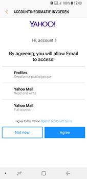 Samsung Galaxy A8 (2018) (SM-A530F) - E-mail - 032b. Email wizard - Yahoo - Stap 11