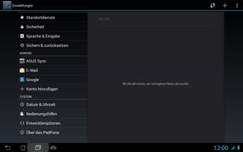 Asus Padfone 2 - Software - Update - Schritt 5
