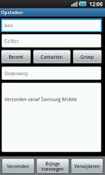 Samsung I5800 Galaxy Apollo - E-mail - e-mail versturen - Stap 4