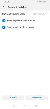 Huawei P Smart (2019) - E-mail - e-mail instellen: POP3 - Stap 15