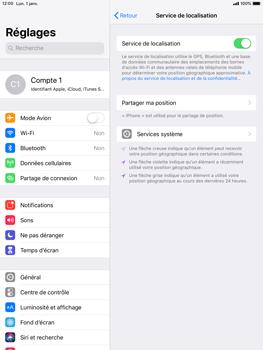Apple iPad 9.7 (2018) iOS12 - Appareil - activéz
