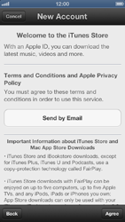 Apple iPhone 5 - Applications - setting up the application store - Step 6