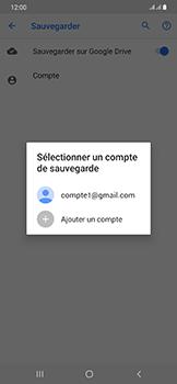 Samsung Galaxy A50 - Données - créer une sauvegarde avec votre compte - Étape 9