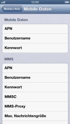 Apple iPhone 5 - MMS - Manuelle Konfiguration - Schritt 7