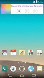 LG G3 - Operazioni iniziali - Installazione di widget e applicazioni nella schermata iniziale - Fase 3