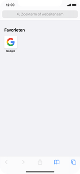 Apple iPhone 12 mini - internet - hoe te internetten - stap 12