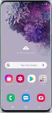 Samsung Galaxy S20 5G - MMS - Manuelle Konfiguration - Schritt 17