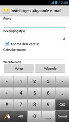 Acer Liquid Z5 - E-mail - Handmatig instellen - Stap 12