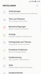 Samsung Galaxy S6 Edge - Android Nougat - Netzwerk - Manuelle Netzwerkwahl - Schritt 4