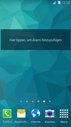 Samsung Galaxy S 5 - Startanleitung - Installieren von Widgets und Apps auf der Startseite - Schritt 7