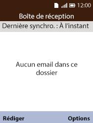 Alcatel 3088X - E-mails - Ajouter ou modifier votre compte Yahoo - Étape 5