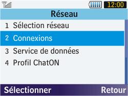 Samsung S3570 Chat 357 - MMS - configuration manuelle - Étape 6