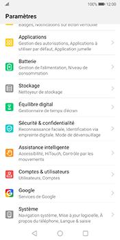Huawei Mate 10 Pro - Android Pie - Téléphone mobile - Réinitialisation de la configuration d