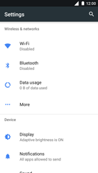 Nokia 3 - Internet and data roaming - How to check if data-connectivity is enabled - Step 4