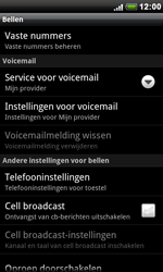 HTC S510e Desire S - Voicemail - Handmatig instellen - Stap 5