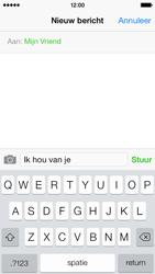Apple iPhone 5s iOS 8 - MMS - Afbeeldingen verzenden - Stap 7