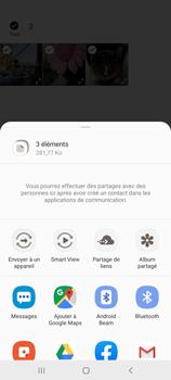 Samsung Galaxy A71 - Photos, vidéos, musique - Envoyer une photo via Bluetooth - Étape 11