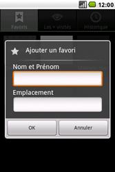 LG GW620 - Internet - navigation sur Internet - Étape 8