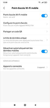 Xiaomi RedMi Note 7 - WiFi - Comment activer un point d'accès WiFi - Étape 10