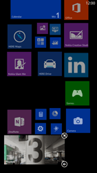 Nokia Lumia 1320 - Getting started - Personalising your Start screen - Step 8