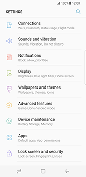 Samsung Galaxy S8 - Internet and data roaming - Disabling data roaming - Step 4