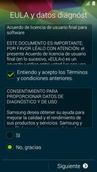 Samsung G900F Galaxy S5 - Primeros pasos - Activar el equipo - Paso 7