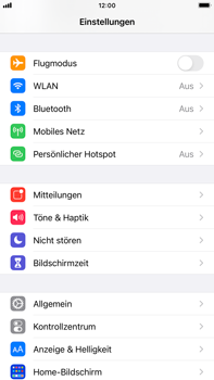 Apple iPhone 7 Plus - iOS 14 - Startanleitung - So aktivieren Sie eine SIM-PIN - Schritt 3