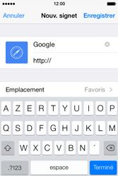 Apple iPhone 4S iOS 7 - Internet et roaming de données - navigation sur Internet - Étape 8