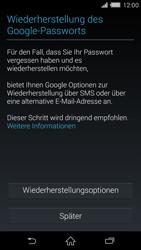 Sony Xperia Z2 - Apps - Konto anlegen und einrichten - Schritt 12