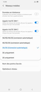 Samsung Galaxy S20 Ultra - Internet et connexion - Activer la 4G - Étape 7