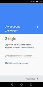 Huawei Mate 10 Lite - E-mail - handmatig instellen (gmail) - Stap 8