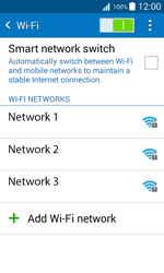 Samsung J100H Galaxy J1 - Wi-Fi - Connect to Wi-Fi network - Step 6