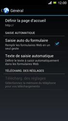 Sony Xperia J - Internet et roaming de données - Configuration manuelle - Étape 22