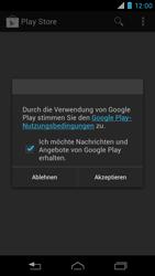 Motorola RAZR i - Apps - Konto anlegen und einrichten - 20 / 22