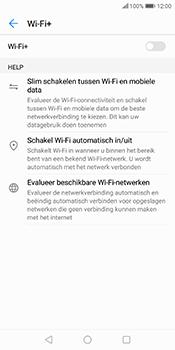 Huawei P Smart - wifi - schakel Wi-Fi Assistentie uit - stap 10