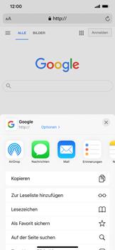 Apple iPhone 12 Pro Max - Internet und Datenroaming - Verwenden des Internets - Schritt 6