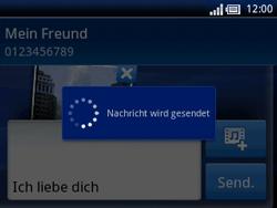 Sony Ericsson Xperia X10 Mini Pro - MMS - Erstellen und senden - 14 / 15