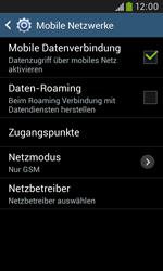 Samsung I9060 Galaxy Grand Neo - Netzwerk - Netzwerkeinstellungen ändern - Schritt 8