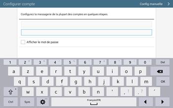 Samsung T535 Galaxy Tab 4 10.1 - E-mail - configuration manuelle - Étape 6