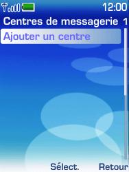 Nokia 6233 - SMS - configuration manuelle - Étape 7