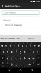 HTC Desire 620 - E-Mail - Konto einrichten - Schritt 6