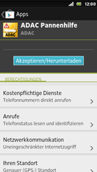 Sony Xperia U - Apps - Herunterladen - 2 / 2