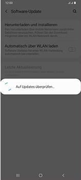 Samsung Galaxy A70 - Software - Installieren von Software-Updates - Schritt 6