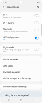 Samsung Galaxy Z flip - Network - How to enable 4G network connection - Step 5